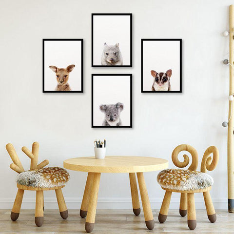 Australian canvas wildlife Wall Art