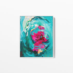Amira Rahim - Swang- Framed Canvas Wall Art Print I Heart Wall Art Australia