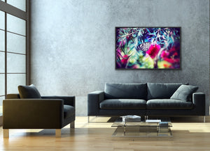 Flutterby - Butterfly Artwork Stretched Canvas Wall Art I Heart Wall Art Australia