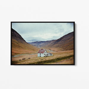 Iceland - Landscape Photographic Art Print Stretched Canvas Wall Art Cheap Wall Art Australia