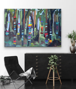 We Danced In The Forest - Australian Nature Canvas or Art Print I Heart Wall Art Australia