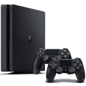 Sony PlayStation 4 Slim 1TB Gaming Console + Extra Jet Black DualShock 4 Wireless Controller
