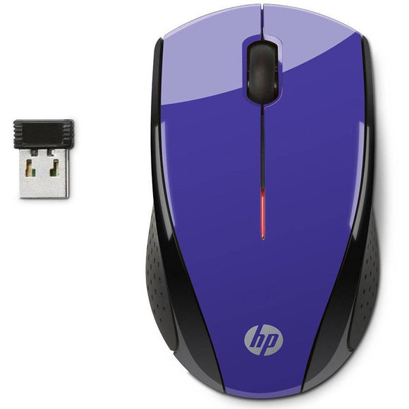 HP K5D29AA#ABA X3000 Wireless Mouse, Purple