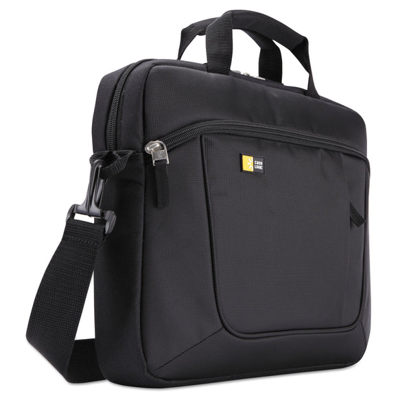 Case Logic Laptop and Tablet Case for 14.1 Laptop and iPad Slim, Polyester, Black