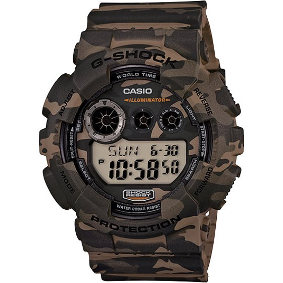 Casio G-Shock XL Digital GD120CM-5 Wristwatch