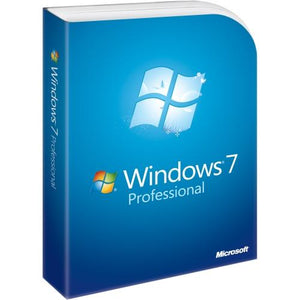 Microsoft Windows 7 Professional with SP1 32-bit Operating System (PC)