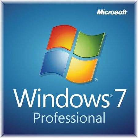 Microsoft Windows 7 Professional with SP1 64-bit, OEM