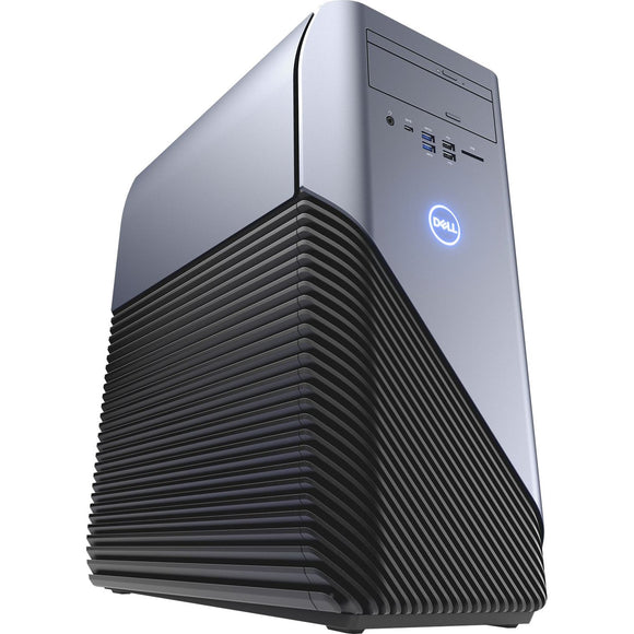 Dell Inspiron Gaming Desktop, AMD Ryzen 5 1400, 3.4GHZ, AMD Radeon RX 570 4GB GDDR5 Graphic Card, 8GB DDR4 Memory, 1TB HD , I5675A933BLU - Gaming Bundle