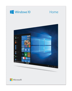 Microsoft Windows 10 Home 32-bit/64-bit Editions