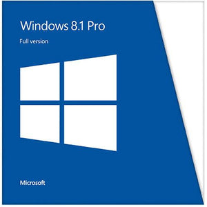 Microsoft Windows 8.1 Professional Full Version 32/64-bit Edition (PC)