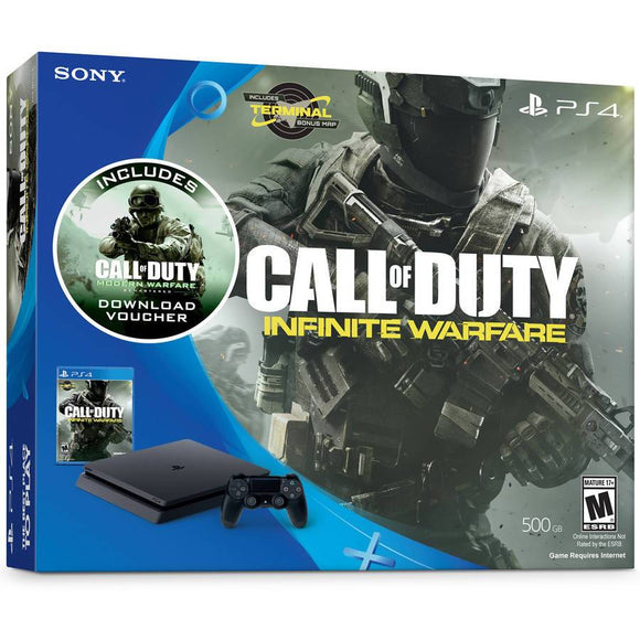 Sony PlayStation 4 Slim 500GB Console Bundle with Call of Duty: Infinite Warfare Bundle