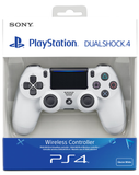 Sony PlayStation DualShock 4 Wireless Controller - Glacier White