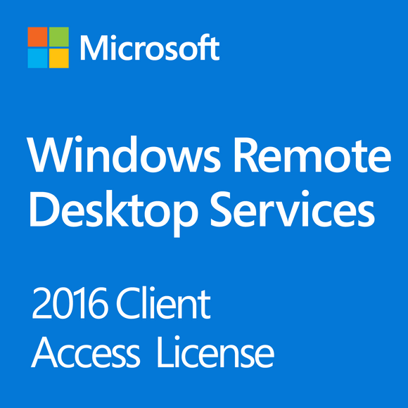 Microsoft Windows Remote Desktop Services 2016 - 5 User CAL