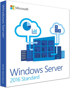 Microsoft Windows Server 2016 Standard 64Bit English 1pk DSP OEI DVD 24 Core
