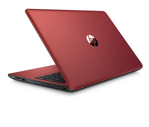 "HP 15-bs234wm 15.6"" Laptop, Windows 10, Intel Pentium N5000 Processor, 4GB Memory, 500GB Hard Drive, DVD, Scarlet Red"