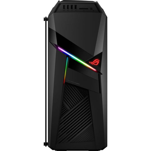 Asus ROG Strix Gaming Desktop GL12CM-DS761, Overclocked Intel® Core™ i7-8700K, NVIDIA GeForce GTX 1060 6GB Graphics, 8GB DDR4 RAM, 256GB SSD + 1TB HDD, Windows 10