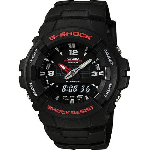 Casio Men's G-Shock Black Classic Ana-Digi Watch G100-1BV