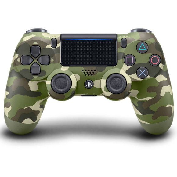 Sony PlayStation DualShock 4 Wireless Controller - Green Camouflage