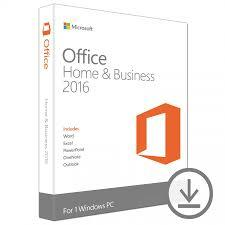 Microsoft Office Home & Business 2016 | 1 user, PC Download