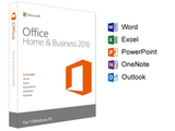 Microsoft Office Home & Business 2016 | 1 user, PC Key Card - English (US)