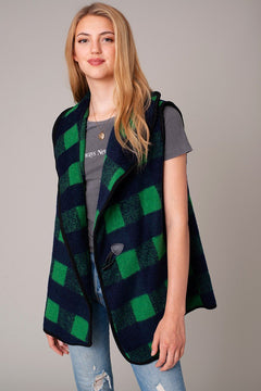 Buffalo Checker Vest
