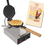 ALD Kitchen Puffle Waffle Maker Professional Rotated Nonstick ALD Kitchen 110V US Plug