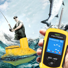 Load image into Gallery viewer, OhCoolstule™ Fishing Portable Wireless Fish Finder Sonar Sensor Transducer Echo Sounder Alarm Detector - OhCoolstule