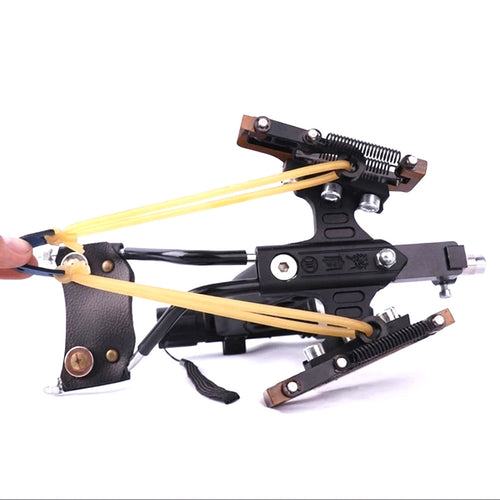 Full Set Fishing Slingshot G5 Estilingue Crossbow Bolts Laser Slingshot Catapult Stainless Steel Compound Bow - OhCoolstule