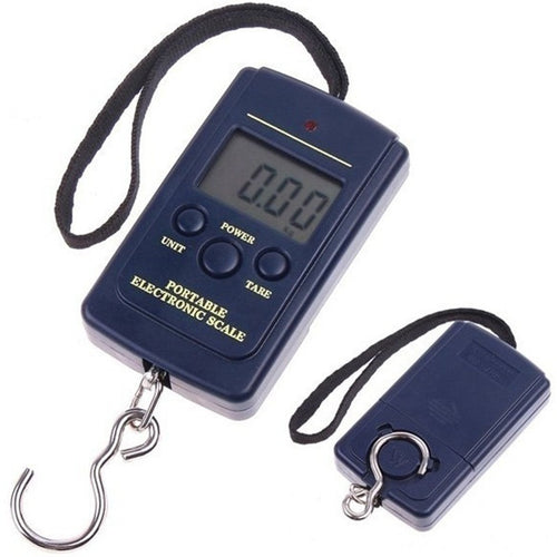 High Quality 40kg 0.01kg Electronic Hanging Fishing Luggage Pocket Portable Digital Weight Scale - OhCoolstule
