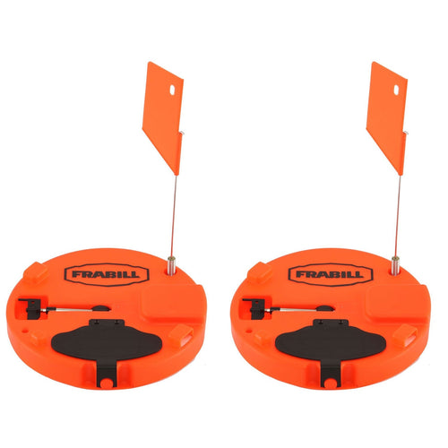 Frabill Pro Thermal Ice Fishing Tip Up Trap for Up to 10