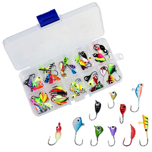 OhCoolstule™Ice Fishing Jigging Lure Mini Metal Bait Hard Lure 54Pcs - OhCoolstule