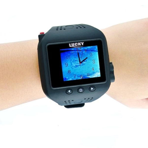OhCoolstule™ Watch Type Sonar Fish Finder Russian Version Sonar Wireless  Colored Display - OhCoolstule