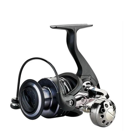 OhCoolstule™ Fishing Reel Spinning Reel 4.9:1 Squid Left Handle Metal - OhCoolstule