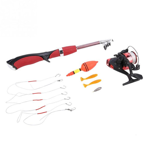 OhCoolstule™Ice Fishing Telescopic Spinning Rod Combo and Reel Kit - OhCoolstule