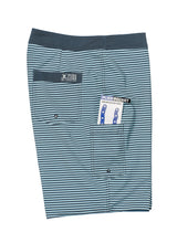 Load image into Gallery viewer, Long Rigger Reversible Swim Trunk - Blue