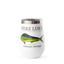 Load image into Gallery viewer, 12oz Saltwater Heritage Wine Tumbler