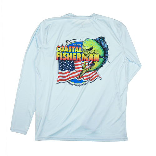 Coastal Fisherman Performance Sun Shirt