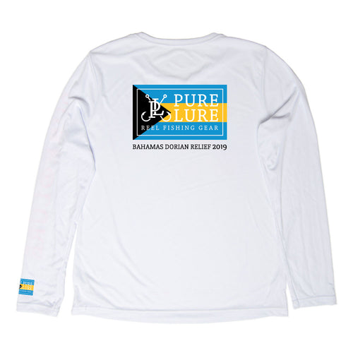 Bahamas Dorian Relief 2019 LS Performance Sun Shirt