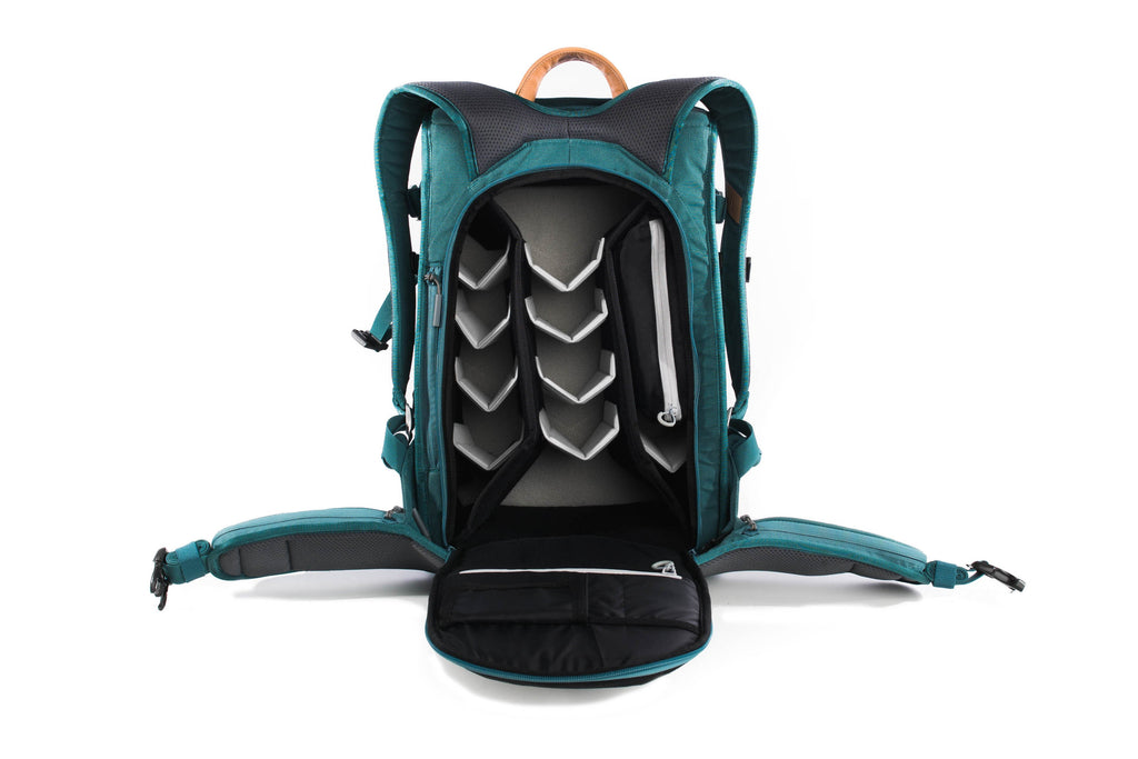 canopy-green holdland backpack open front