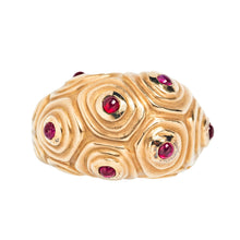 Angela Cummings 18K Gold and Ruby Ring