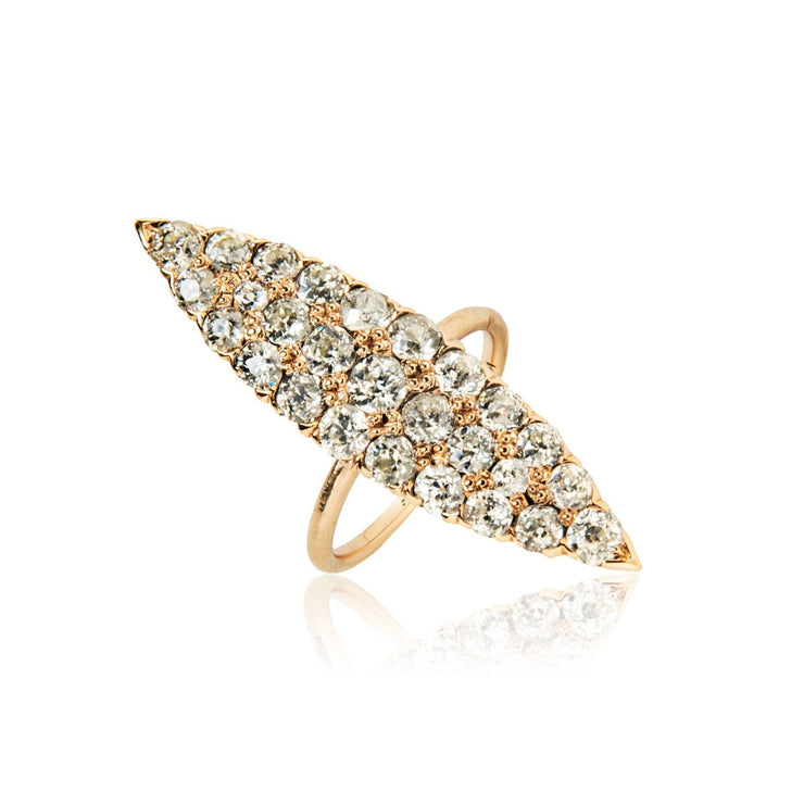 Diamond Navette Ring