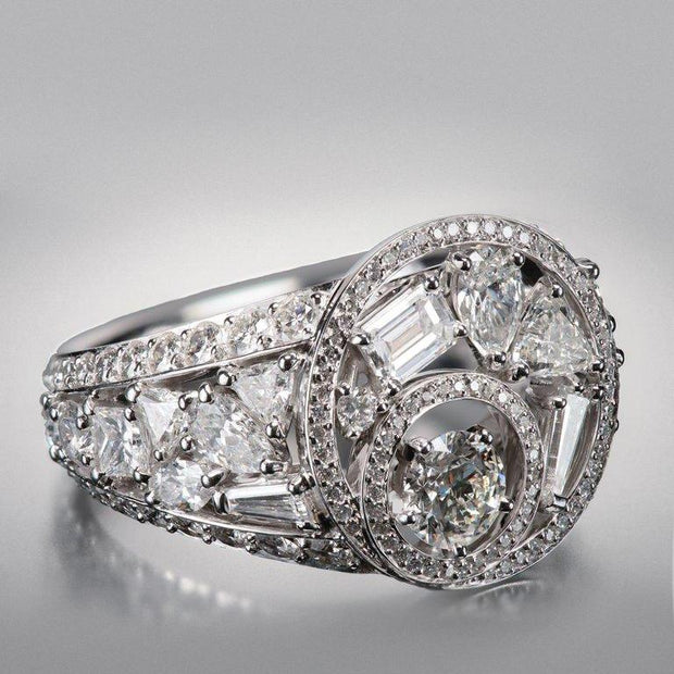 "Chanel Fine Jewelry ""Cosmos"" Diamond Ring, 1932 Collection"