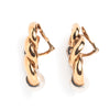 David Webb 18K Yellow Gold and Pearl Three Zero Ear Clips