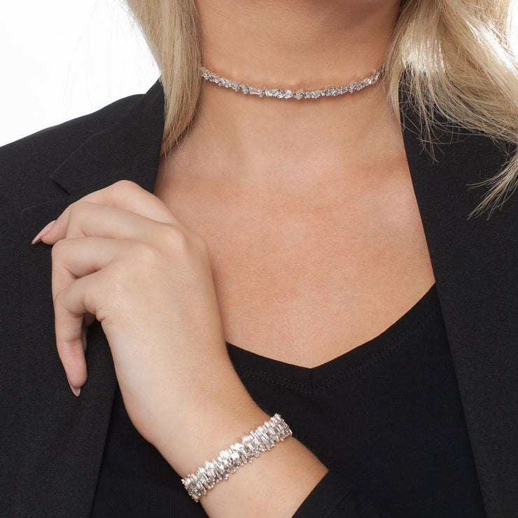 Diamond Fireworks Choker - Tiina Smith Jewelry