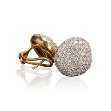 "H. Stern Diamond Pave ""Golden Stone"" Earrings"