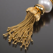 "Henry Dunay Gold, Coral and Cultured Pearl ""Marrakech"" Sautoir - Tiina Smith Jewelry"