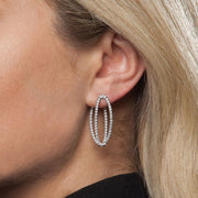 Medium Mila Diamond Earrings - Tiina Smith Jewelry