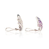 Seaman Schepps Iolite Amethyst Wave Earrings