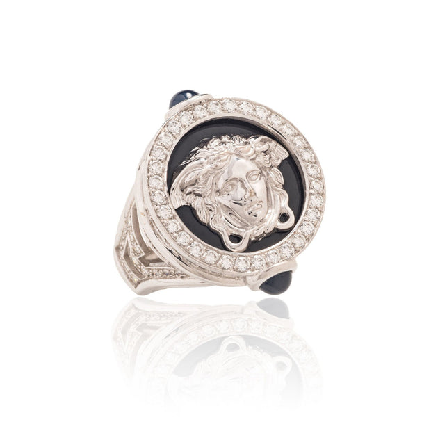 Versace Fine Jewelry Medusa Ring