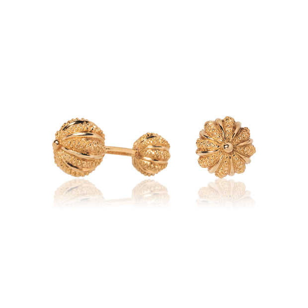 Schlumberger for Tiffany & Co. 18K Yellow Gold Melon Cufflinks